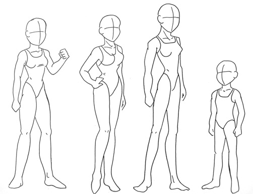 body types women